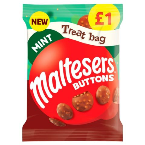 Maltesers Mint Buttons Milk Chocolate Mars 68g